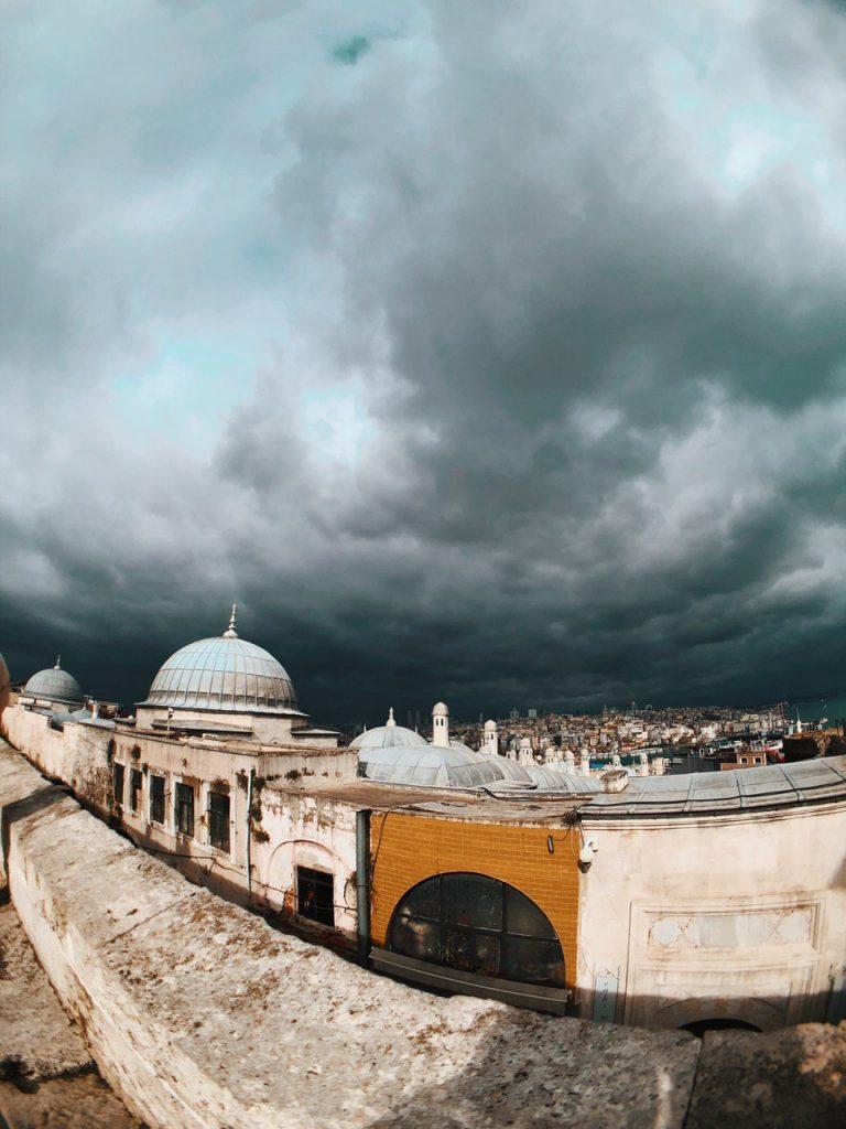 Vistas desde el mirador de la mezquita de Suleimán, Estambul Guía de viajes.