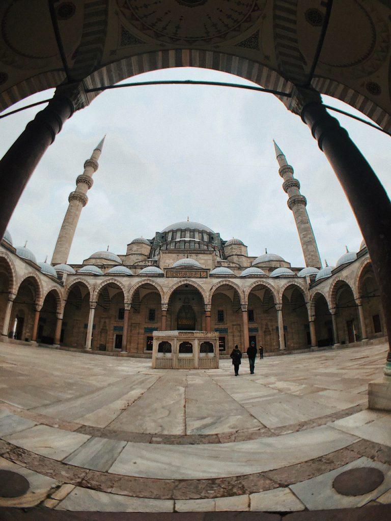 Mezquita de Suleimán, guía de viajes por Estambul.