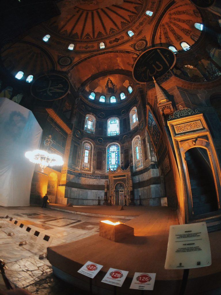 Hagia Sofía, Estambul. Qué ver, qué hacer. Guia de viajes.