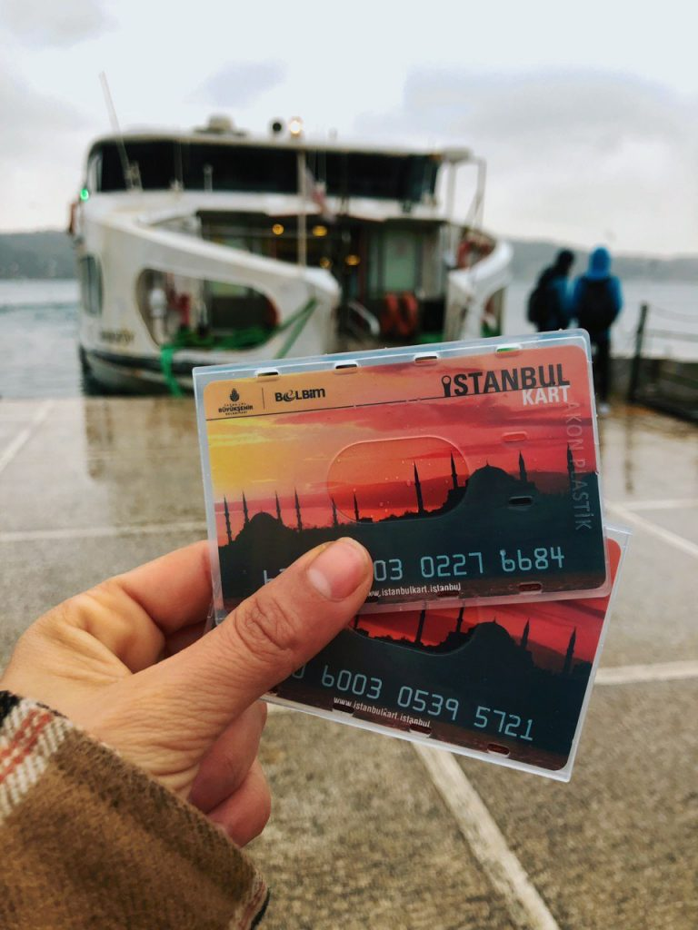 Tarjetas de viaje, Estambul. Guía de viaje.