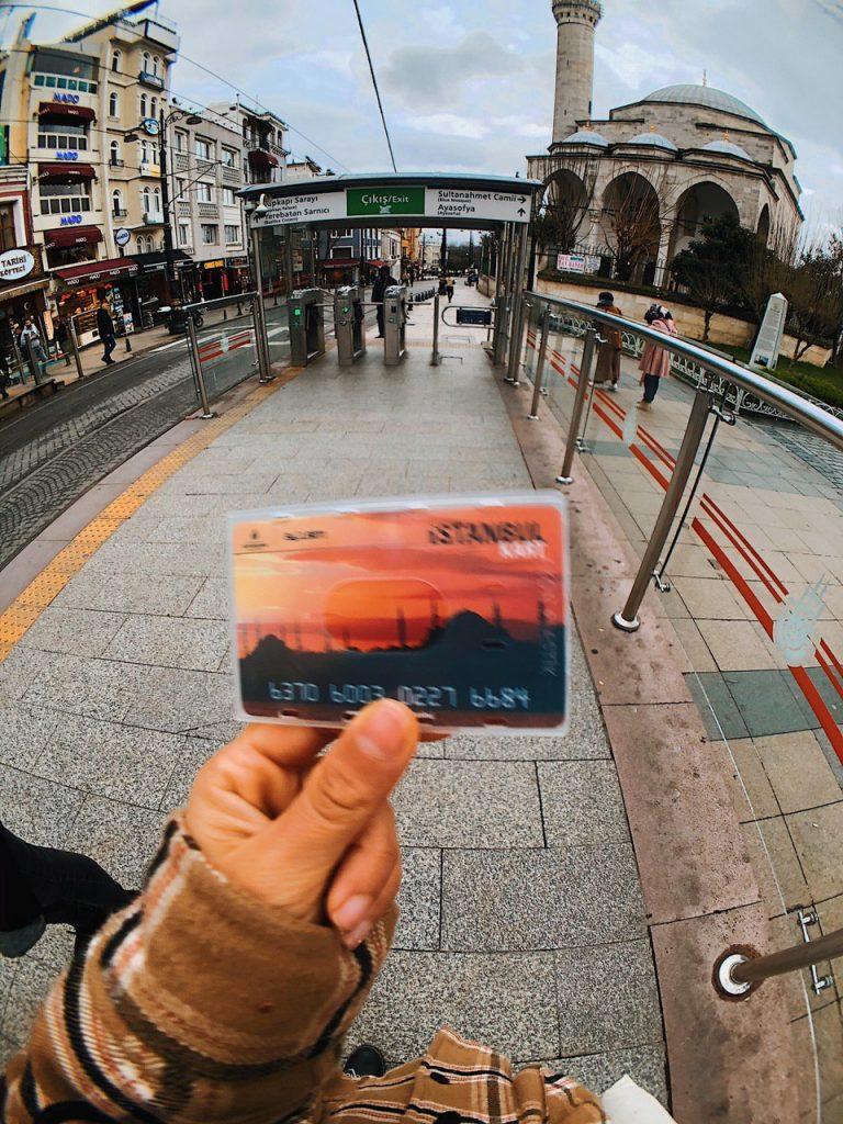 Tranvía de Sultanahmet a Gálata. Guía de viajes Estambul.