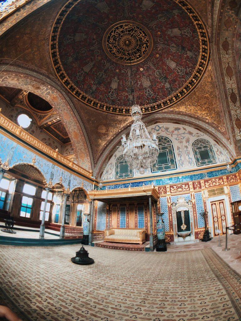 El 'Harem' del palacio Topkapi. Estambul, guía, qué ver.