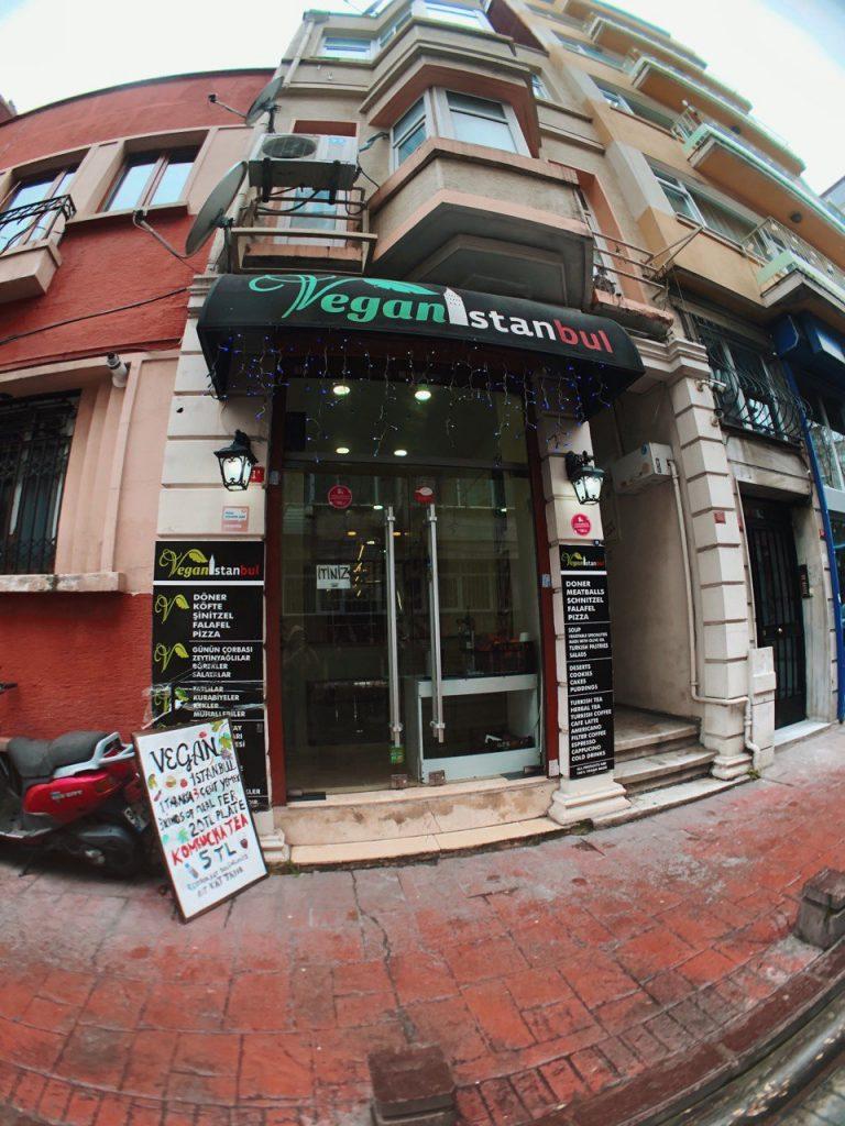 Vegan Istanbul, restaurante vegano en Estambul, Turquía. Blog de viajes, guía.