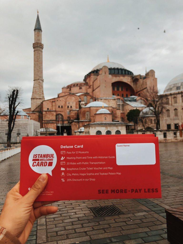 'Istanbul Welcome Card' un pack para ahorrar dinero en tu viaje por Estambul. Guías y viajes.